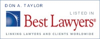 Don Taylor Best Lawyer